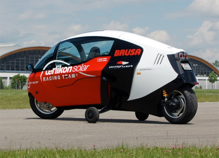 Fully Enclosed Motorcycle