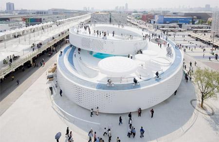 Futuristic Pavilion