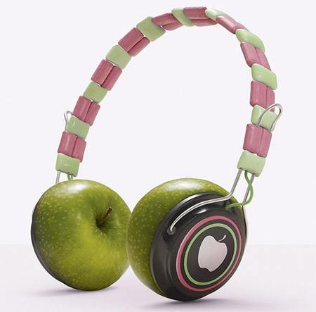 Edible Headphones