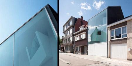 Glass House in Belgium