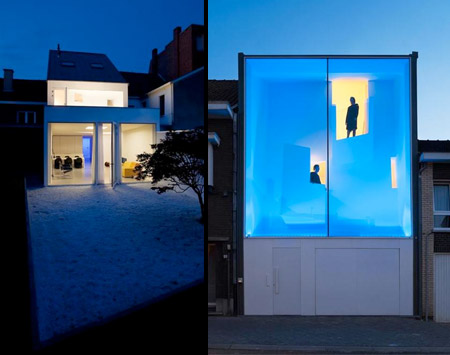 Narrow Glass House