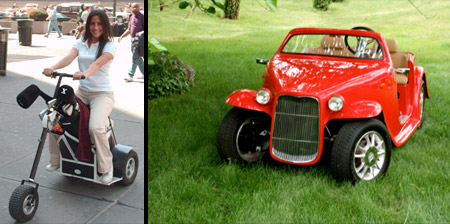 12 Cool and Unusual Golf Carts