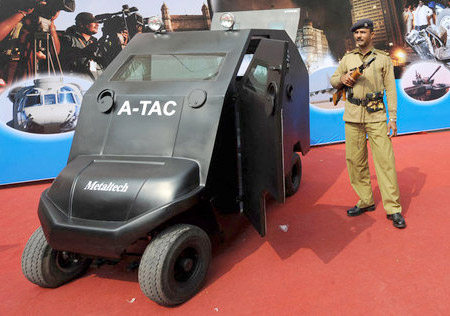Armored Golf Cart