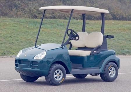 Porsche Golf Cart