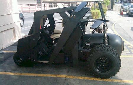 Tumbler Golf Cart