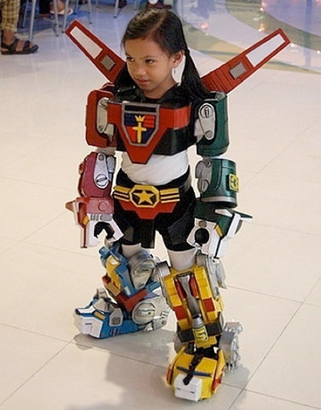 Voltron Girl Costume