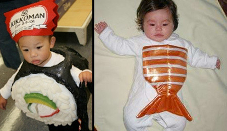 Sushi Baby Costumes
