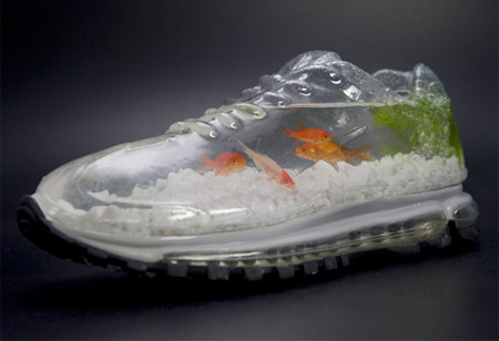 Nike Shoe Aquarium from Japan