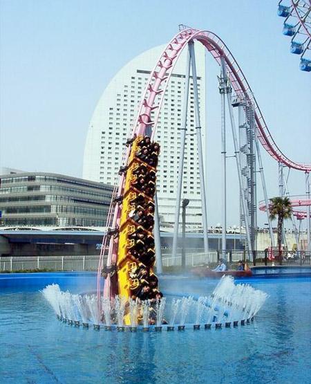Underwater Roller Coaster