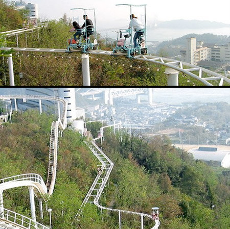 Pedal Powered Roller Coaster