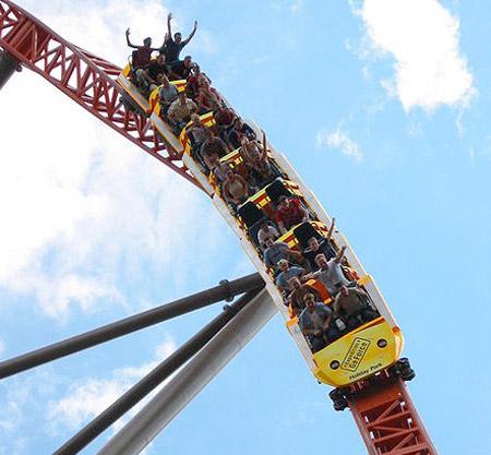 Expedition GeForce Roller Coaster