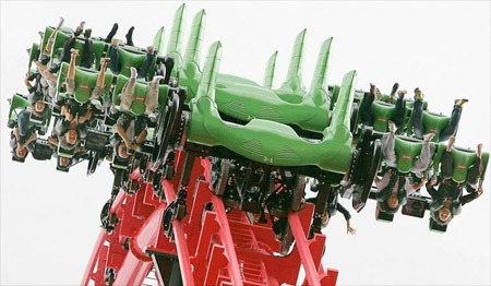 Eejanaika Roller Coaster
