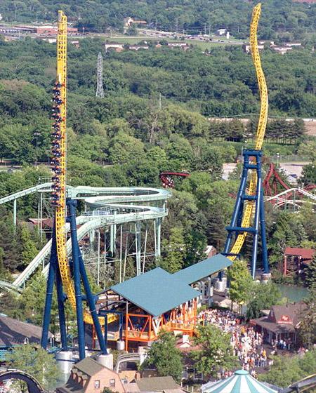 Vertical Velocity Roller Coaster
