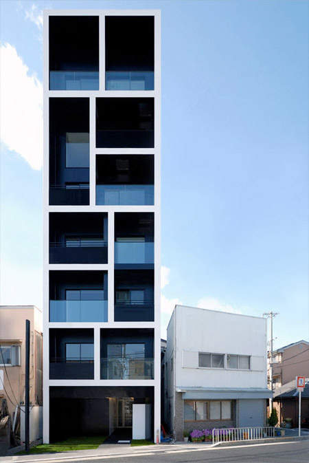 Slim Apartment Building