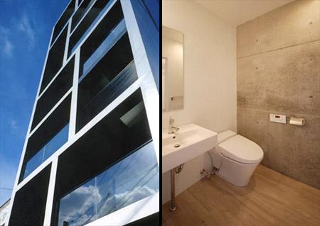 Slim Apartment in Japan