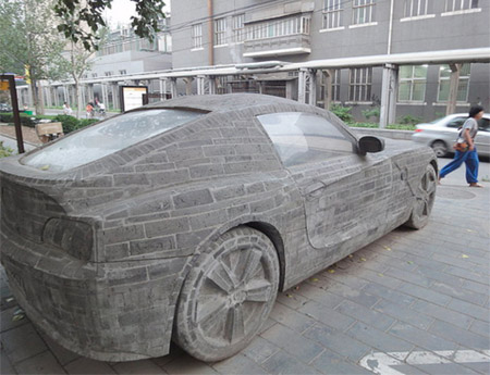 BMW Made from Stone
