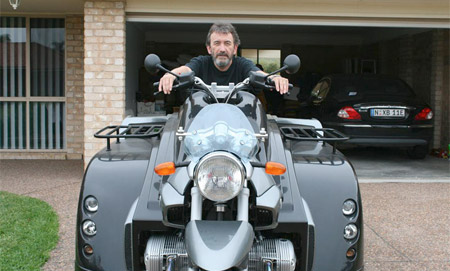 Wheelchair Motorcycle