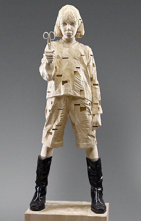 Wood Carvings by Gehard Demetz