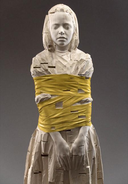 Wooden Carvings by Gehard Demetz