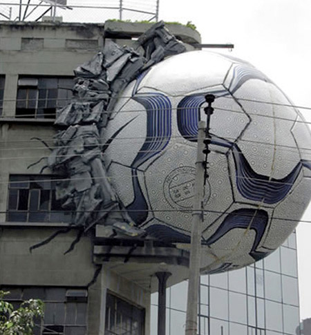 World Cup Building Ad