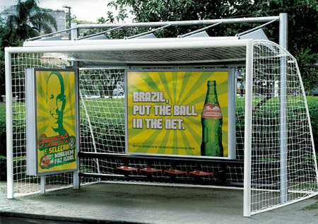 World Cup Bus Stop