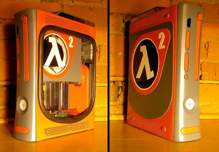 Half-Life 2 Xbox 360 Case Mod