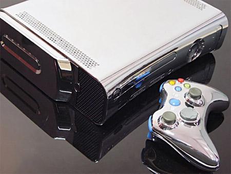 Chrome Xbox 360