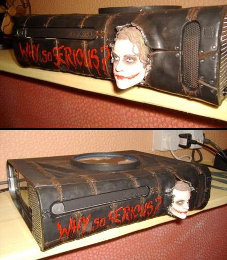 Joker Xbox 360 Case Mod