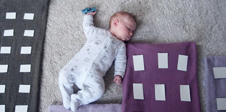 Creative Photos of a Sleeping Baby