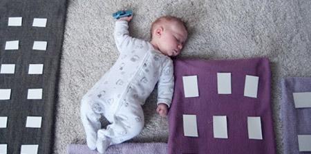 Creative Photos of a Sleeping Baby