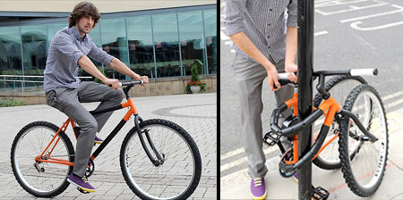 Bendable Bicycle Concept