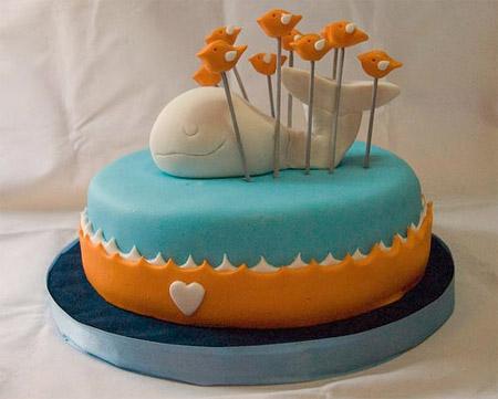 Twitter Fail Whale Cake
