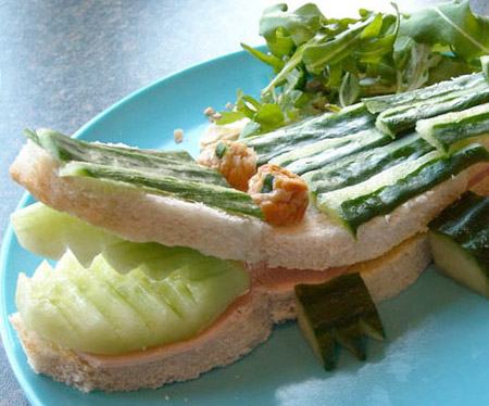 Crocodile Sandwich