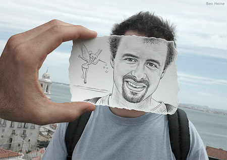 Drawing vs Photo