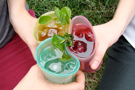 Edible Drinking Glasses
