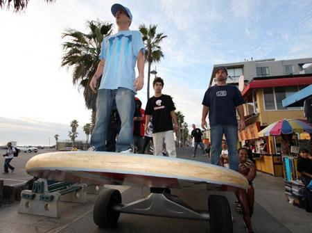 Big Skateboard