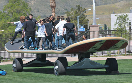 Worlds Biggest Skateboard