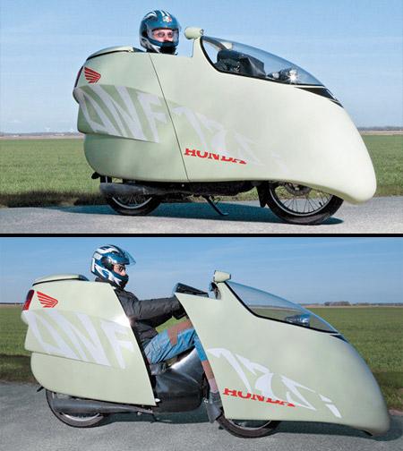 Enclosed Motorcycle
