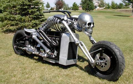 Skeleton Motorcycle
