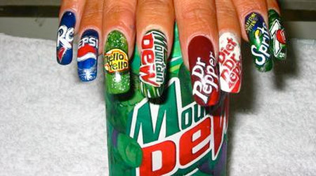 Soft Drink Nails