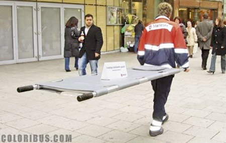 Stretcher Ad