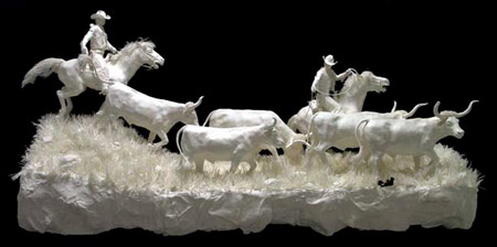 Amazing Sculptures Made of Paper