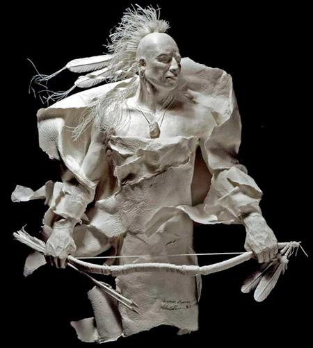 Patung-patung Bagus dari kertas