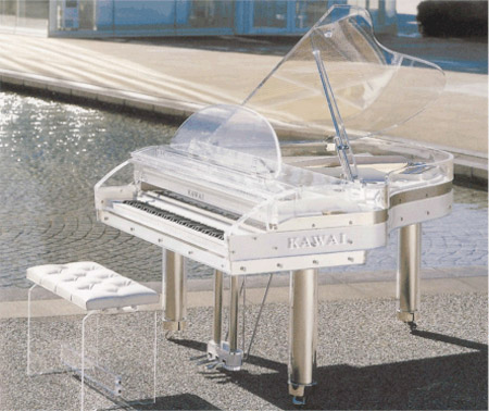 Transparent Piano