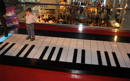 Floor Piano