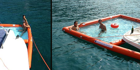 Inflatable Pool for your Boat