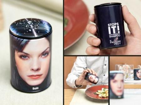 Pantene Salt Shaker