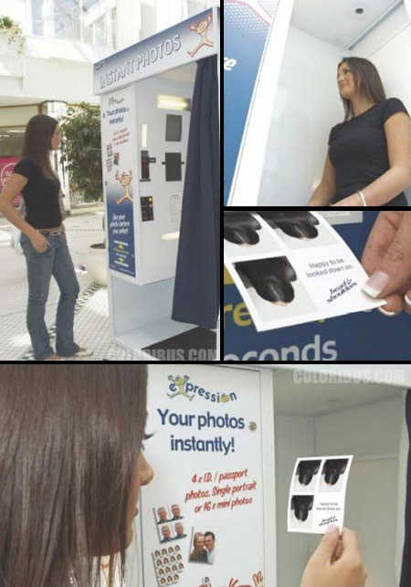 Head & Shoulders Photo Booth