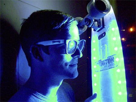 LED Skateboard