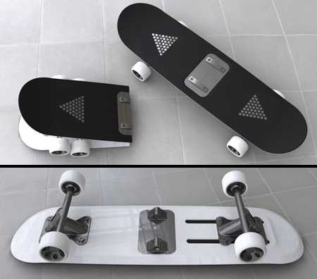 Foldable Skateboard
